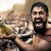 This Is Sparta Dad Kitten